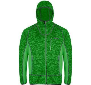 Pánská fleecová mikina Regatta CARTERSVILLE V zelená