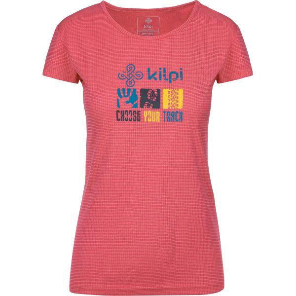 Dámské tričko KILPI GIACINTO-W růžová