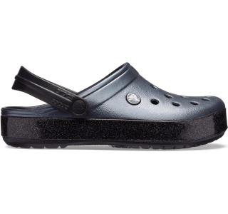 Dámské boty Crocs CROCBAND Printed Clog černá