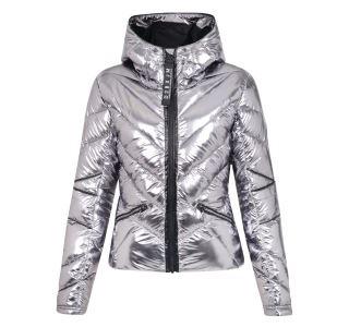 Dámská zimní bunda Dare2b COUNTESS stříbrný chrom