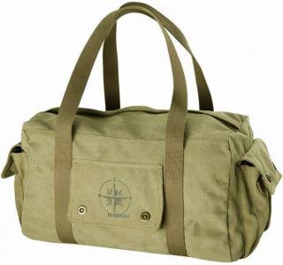 Cestovní taška BUSHMAN KARO olivově zelená