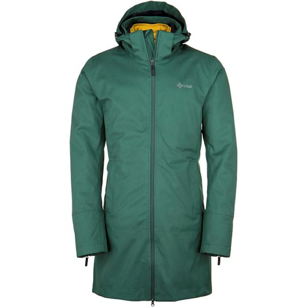 Pánská zimní bunda 2 v 1 KILPI IVAR-M khaki