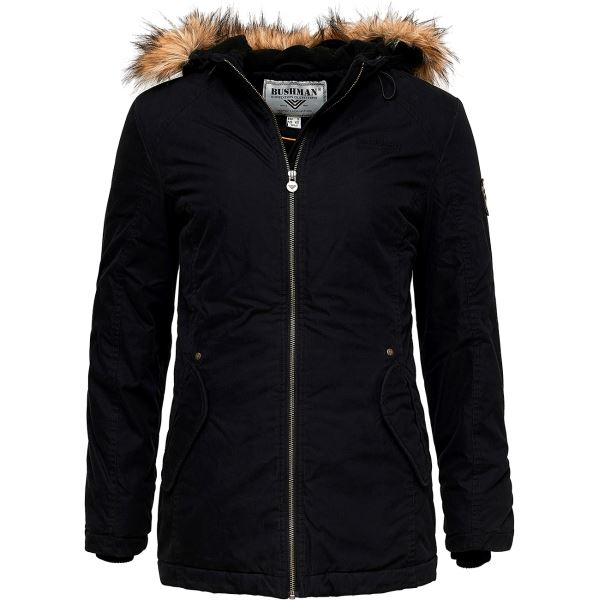 Dámská zimní bunda BUSHMAN LACONIA černá