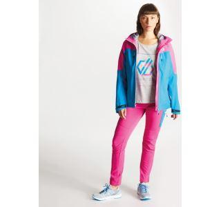 Dámská bunda Dare2b SURFIEST modrá/růžová