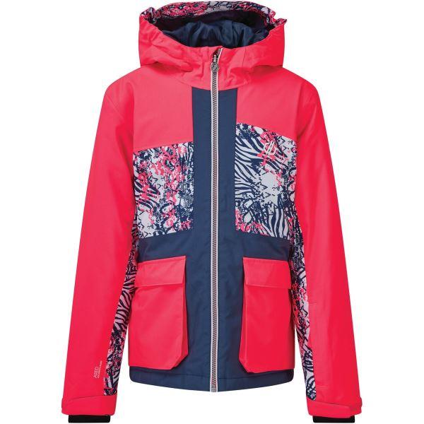 Dětská zimní bunda Dare2b ESTEEM modrá/růžová