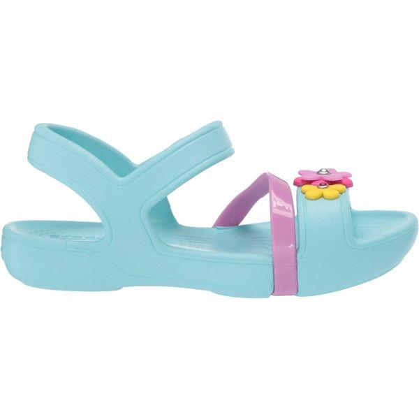 Dětské sandály Crocs Lina Charm Sandal ledová modrá