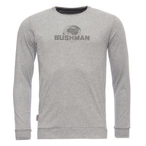 Pánské tričko BUSHMAN GREELEY světle šedá