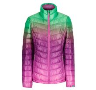Dámská zimní bunda Regatta AZUMA II fialová/zelená