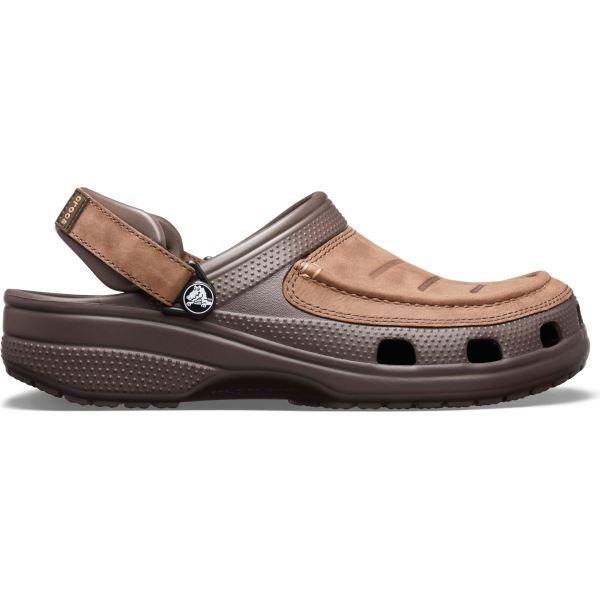 Pánské boty Crocs Yukon Vista Clog hnědá