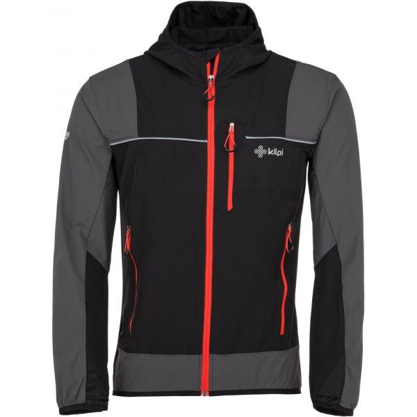 Pánská outdoorová bunda KILPI JOSHUA-M černá