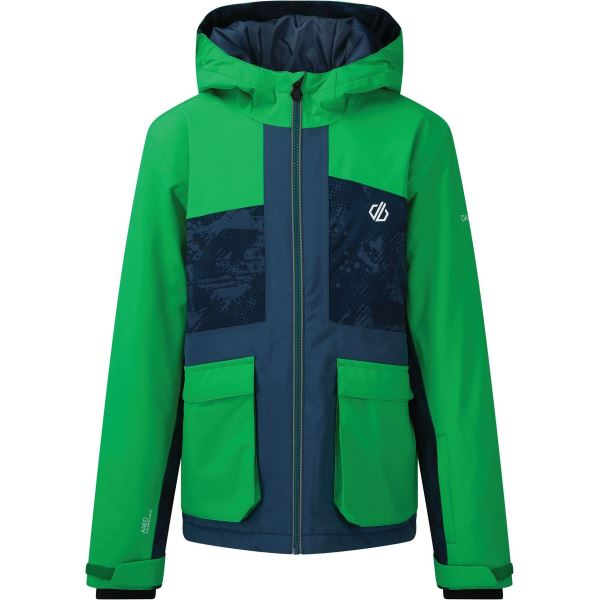 Dětská zimní bunda Dare2b ESTEEM modrá/zelená