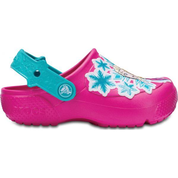 Dětské boty Crocs Fun Lab Frozen Clog růžová