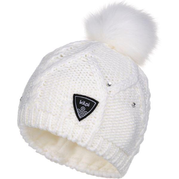 Dámská zimní čepice KILPI LADY-W bílá (kolekce 2019)