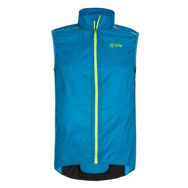 Pánská ultralehká vesta KILPI FLOW-M modrá
