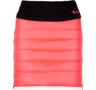 Dámská zimní zateplená sukně KILPI MATIRA-W růžová (kolekce 2019)