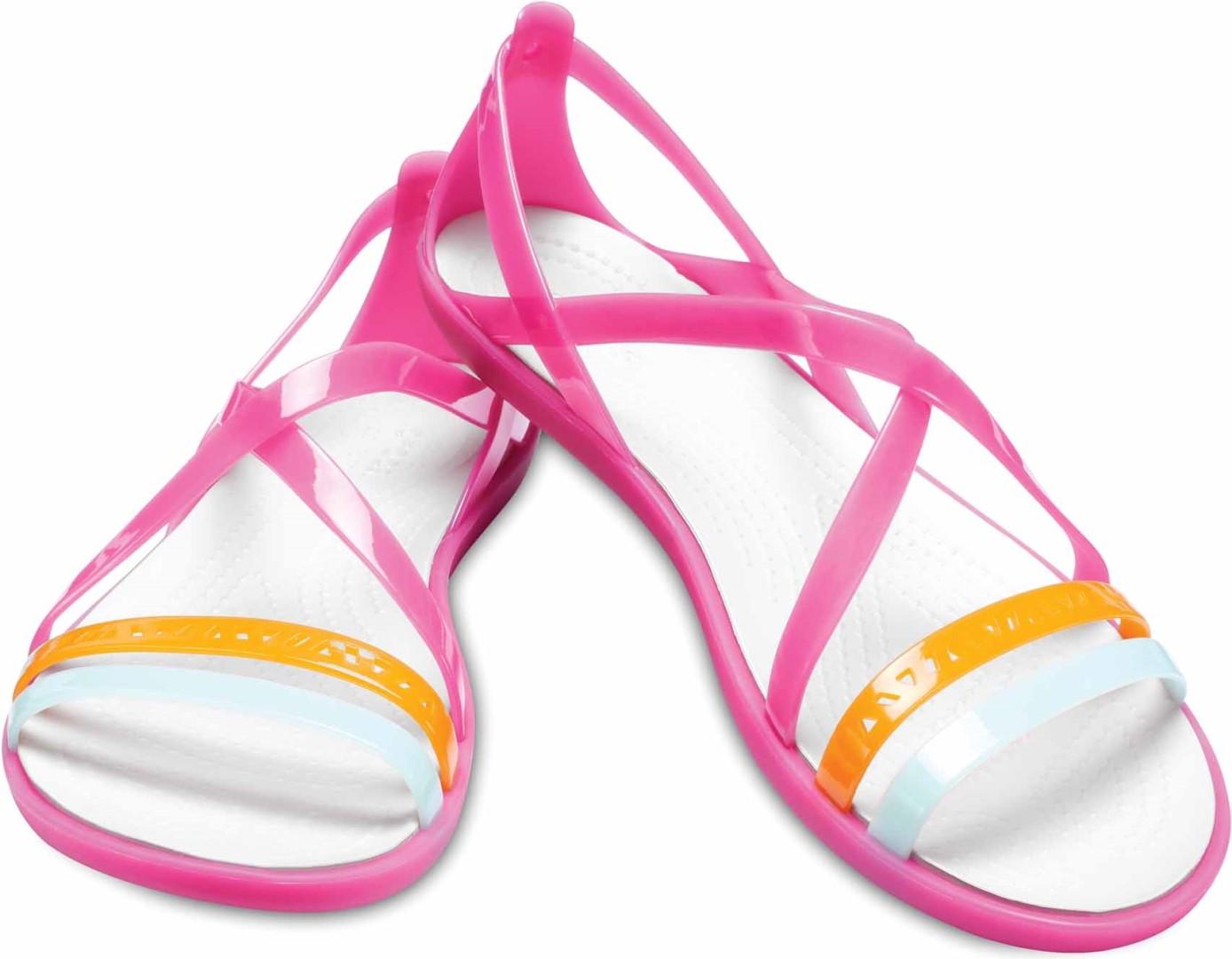 42f210e1ec64 Dámské sandále Crocs ISABELLA Strappy růžová 39-40