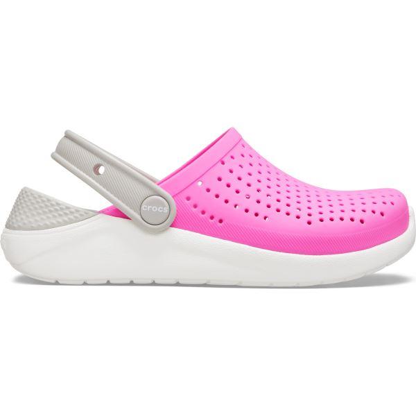 Dětské boty Crocs LiteRide Clog růžová/bílá