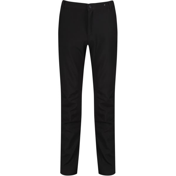 Pánské softshellové kalhoty Regatta FENTON černá