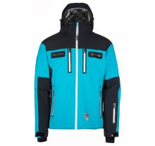 Pánská lyžařská bunda KILPI TEAM JACKET-M černá (kolekce 2019)