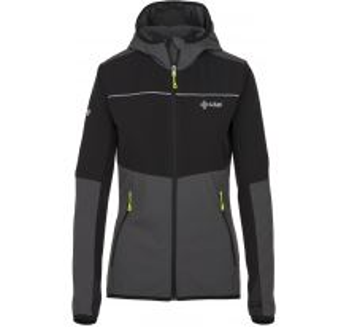 Dámská outdoorová bunda KILPI JOSHUA-W tmavě šedá (kolekce 2019)