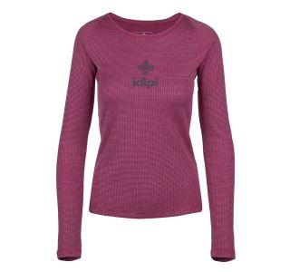 Dámské funkční tričko KILPI FLIN-W tmavě červená (kolekce 2019)