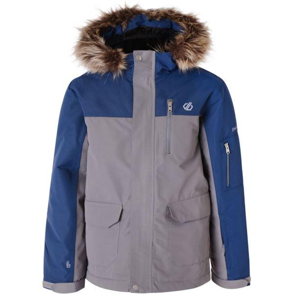Dětská zimní bunda Dare2b FURTIVE modrá/šedá
