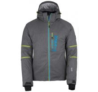 Pánská  lyžařská bunda KILPI URAN-M tmavě šedá (kolekce 2018)