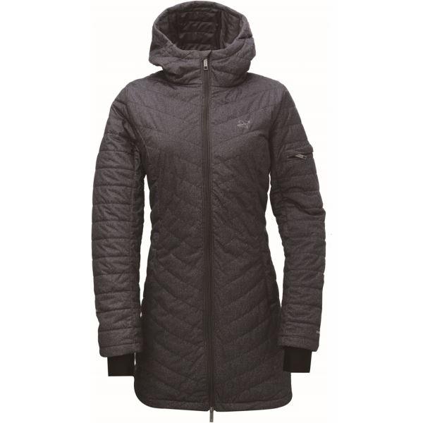 Dámský kabát 2117 EGGBY inkoustově šedá
