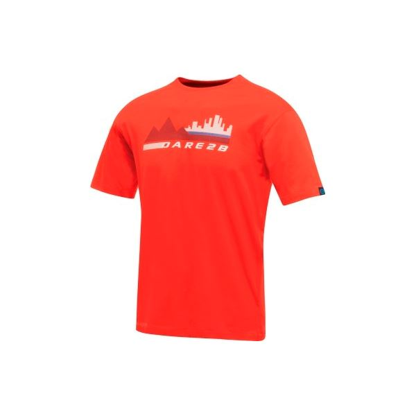 Pánské tričko Dare2b CITY SCENE červená