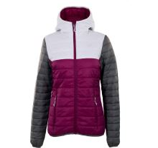 Dámská prošívaná bunda 2117 Jacket VALLERAS fialová magenta