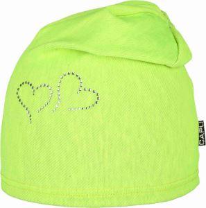 Dětská čepice CAPU 214 zelená