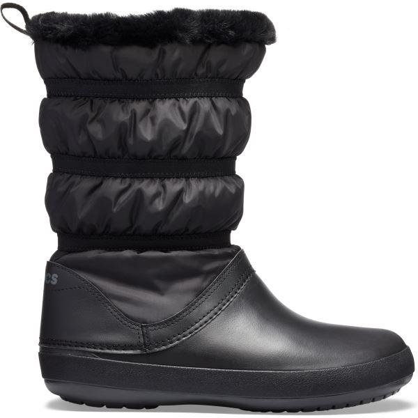 Dámské zimní boty Crocs CROCBAND Winter Boot černá