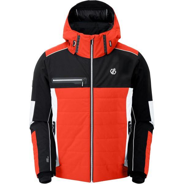 Pánská zimní bunda Dare2b OUT FORCE černá/oranžová
