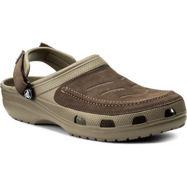 Pánské boty Crocs Yukon Vista Clog světle hnědá/khaki