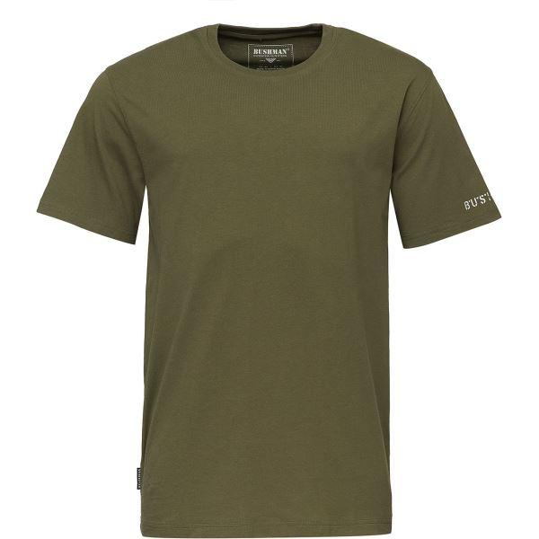 Pánské tričko BUSHMAN ARVIN tmavě zelená