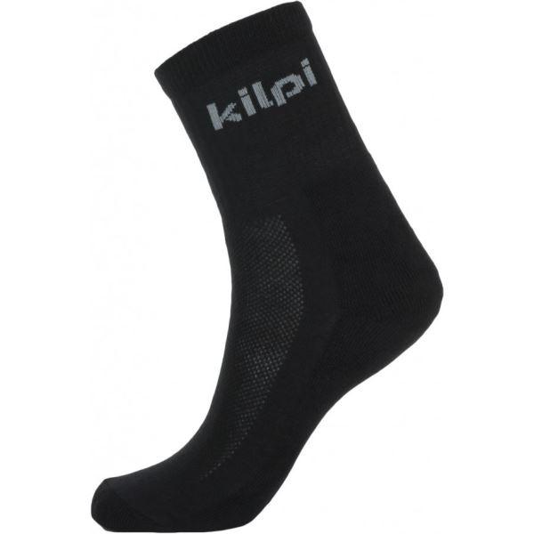 Unisex ponožky KILPI AKARO-U černá