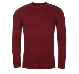 Pánský svetr BUSHMANA USAKA červená burgundy