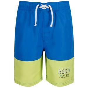 Dětské kraťasy Regatta SHAUL II modrá/zelená