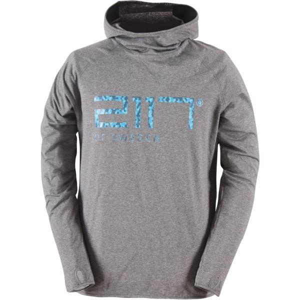Pánské funkční triko 2117 JÖRN tmavě šedá