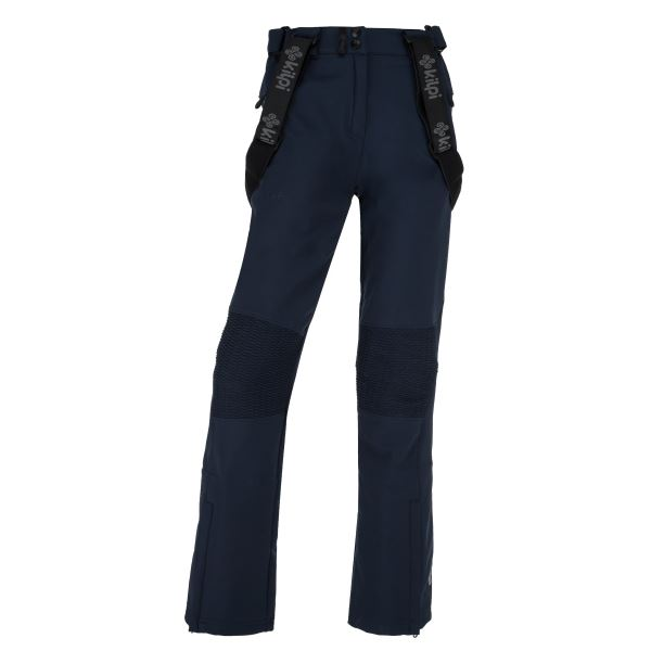 Dámské zimní softshellové kalhoty KILPI DIONE-W tmavě modrá