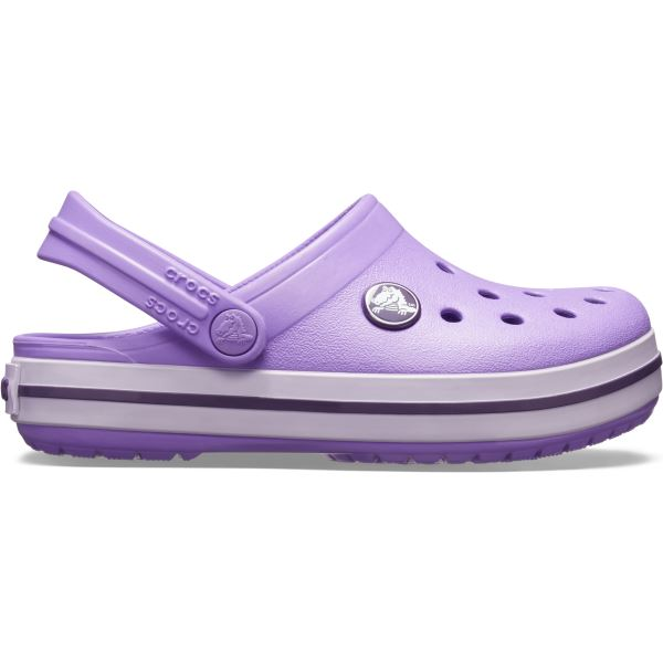 Dětské boty Crocs CROCBAND Clog fialová