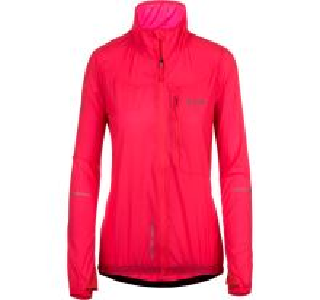 Dámská ultralehká bunda KILPI AIRRUNNER-W růžová