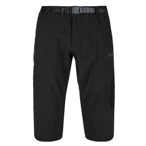 Pánské 3/4 kalhoty KILPI OTARA-M černá (nadměrná velikost)
