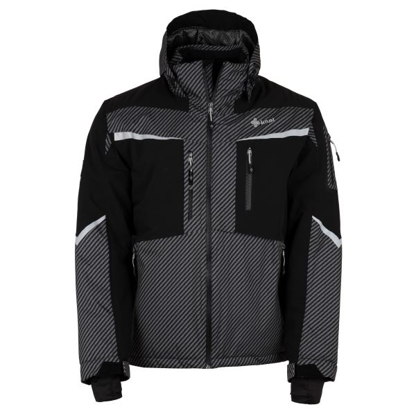 Pánská zimní lyžařská bunda KILPI IO-M tmavě šedá