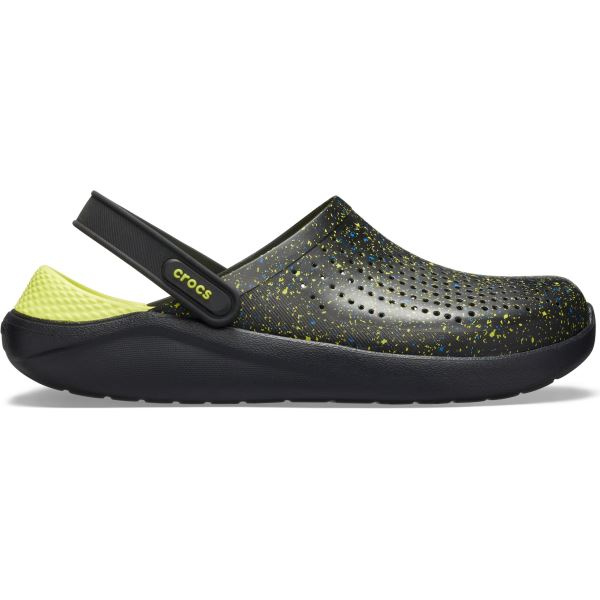 Pánské boty Crocs LiteRide Hyper Bold Clog černá/černá
