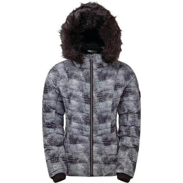 Dámská zimní bunda Dare2b GLAMORIZE II černá/bílá