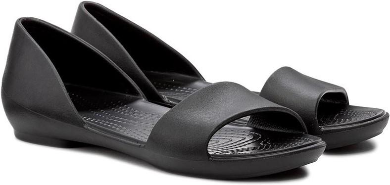46cf68004bca Dámské balerínky Crocs LINA D ORSAY Flat černá