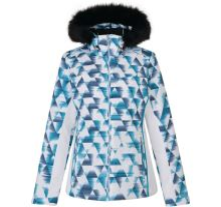 Dámská zimní lyžařská bunda Dare2b COPIUS bílá/modrá