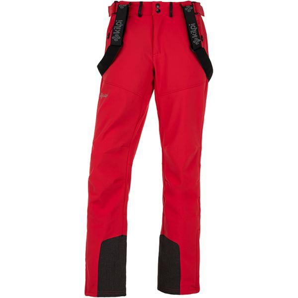 Pánské lyžařské kalhoty KILPI RHEA-M červená
