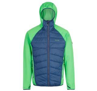 Pánská bunda Regatta ANDRESON III Hybr zelená/modrá